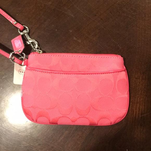 Coach Accessories - Pink Coach wristlet